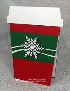 Good morning! Ruza here to share a Holiday Gift Card Holder for the Coffee Lover's in your life featuring Basis Green Cardstock , ...