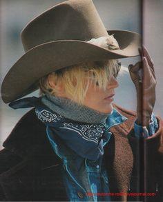 ☆ Jo Kelly   Photography by Marc Hispard   For Elle Magazine France   September 1984 ☆