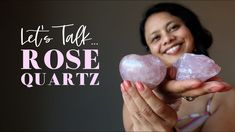 Rose Quartz Meaning, What Is Rose, Friendship Love, Crystal Healing, Pretty In Pink, Gems, Pure Products, Crystals, Rhinestones