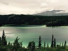I visited Alaska and Canada over the summer. I drove for hours through Skagway and BC in the pouring rain but I think this picture of the Emerald Lake made it all worth it. [OC] [42002800] #reddit
