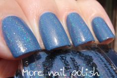 Too Fancy Lacquers Moody Blue