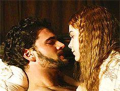 Giuliano et Vanesse Da Vinci's Demons