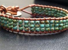 soft beaded handmade bracelet