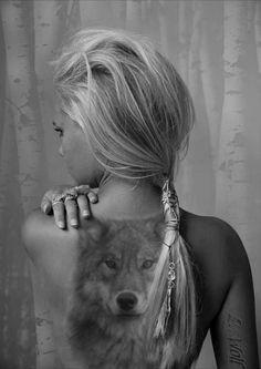 Красивые Мужские Тату Волка: 50 Фото | TattooAssist | 333x236