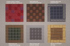 Some unusual floor designs : Minecraft Minecraft Architecture, Minecraft Buildings, Minecraft Floor Designs, Minecraft Crafts, Minecraft Ideas, Minecraft Stuff, Minecraft Medieval, Minecraft Blueprints, Flooring