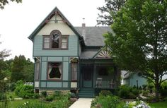 Lanesboro Minnesota vacations will take you to the most popular southern Minnesota tourist destination. Lanesboro Minnesota, Bed And Breakfast, Travel Inspiration, Cities, Travel Destinations, Romantic, Cabin, Vacation, House Styles
