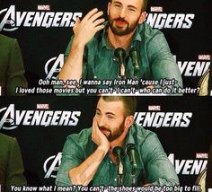 "The Avengers   ...  ""If you could be cast as any other Avenger in the next movie, who would you be and why?"""