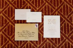 Invitation suite from Viansa Winery wedding. Tinywater Photography, http://tinywater.com.