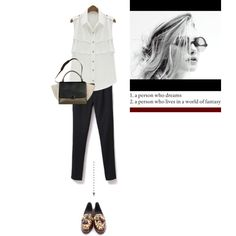 """Leopard at the end"" by letterelle on Polyvore"