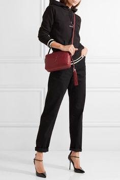 74ca40a0d72 Saint Laurent - Monogramme Lou leather shoulder bag