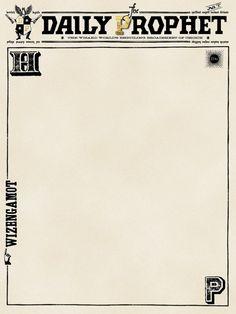 Journal Card - Harry Potter - The Daily Prophet - lines - 3x4 photo pz_DIS_830_HarryPotter_DailyProphet_3x4.jpg