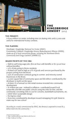 Bronx Community Development Project Committed to Living Wages and Local Economy