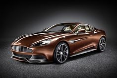 Aston Martin Vanquish returns the name to its former glory, with a 6.0-litre V12 engine pumping out 565 hp, a Touchtronic 2 six-speed automatic that keeps the power pumping to the wheels for a 0-62 mph time of 4.1 seconds and a top speed of 183 mph. Other features include LED rear lighting, a more spacious cabin and boot, a refined, LED-laden interior, and an undeniably sexy, all-carbon fiber body.