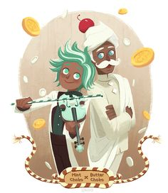 mintchoc and butter