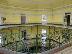LITERATURA & RIO DE JANEIRO: HOSPITAL CENTRAL DO EXÉRCITO em BENFICA O interior.