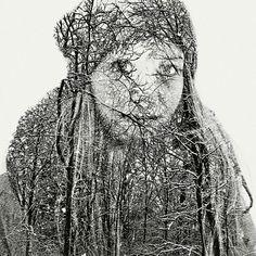 Multiple-Exposure Portraits by Christoffer Relander   Inspiration Grid   Design Inspiration