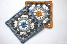 Triple Puff Granny Square   Free crochet pattern and tutorial by Emmy + LIEN (printable version available for purchase)