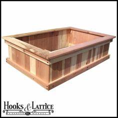 Raised Bed Garden Box