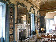 Wimpole Hall Library | The Book Habit