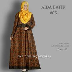 62 Model Gamis Batik Terbaru Populer 2020 – CuanLagi.Com Model Kebaya, Kebaya Muslim, Dresses, Fashion, Vestidos, Moda, Gowns, Fasion, Dress