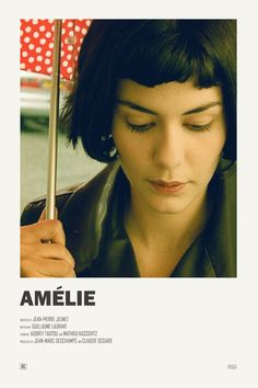 Amelie alternative movie poster Visit my Store