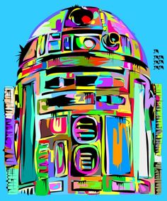 R2D2- really want a giant picture of this in my house. lol. SUCH a nerd. :)