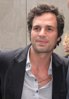 "Mark Ruffalo- he became awesome in my mind after I saw him in ""13 Going On 30"""