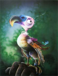 Airbrush - Napoleon dodo