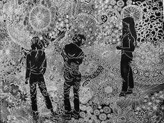 Artistaday.com : Houston, TX artist Laura Lark