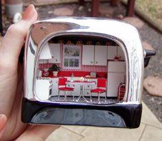 Miniature ToasterKitchen :)