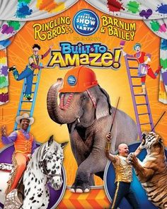 Ringling Bros. and Barnum & Bailey Circus New York, NY #Kids #Events