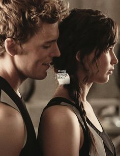 Finnick and Katniss...want a sugar cube?