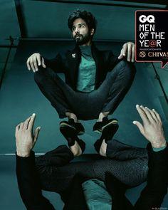Shahid Kapoor. GQ India