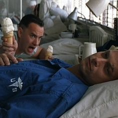 """Lieutenant Dan, ice cream!"""