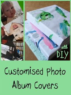 If you've run out of gifting ideas, make custom covers for a set of photo albums using this easy DIY tutorial.