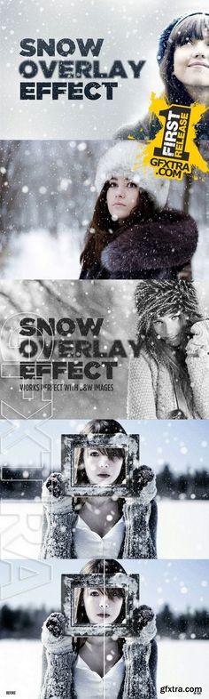 Snowy Day Overlay Effect - CM 132058