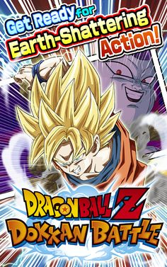 DRAGON BALL Z DOKKAN BATTLE App #dragonballz #dokkanbattle #app #freeappsking #itunes #googleplay #Bandai #Namco #ipad #iphone #itouch #android #games