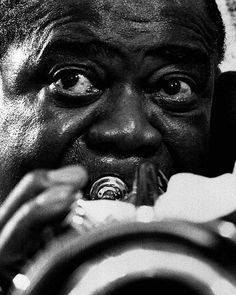 Louis Armstrong. Incredible musician and actor!