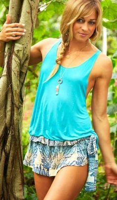 Tiare Hawaii Byron Bay Shorts | Tiare Hawaii Dresses | Tiare Hawaii