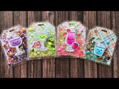How To Make Tropical Shaker Tags Using Fuse Tool Card Tags, Gift Tags, Decorated Gift Bags, Gift Cards Money, Kawaii Diy, Interactive Cards, Shaker Cards, Craft Fairs, Handmade Crafts