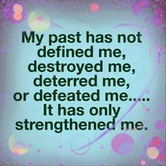 PSALM  103:11 -  As far as the east is from the west,  so far has He removed our transgressions from us.  -- 2 CORINTHIANS  5:17 - Therefore if any is in Christ,  he is a new creation.   Old things have gone, and behold all things are new again.
