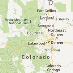 Google Map of all of Colorado's 14ers (fourteerners)