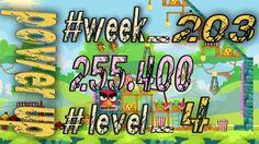 Angry Birds Friends Tournament Week 203  Level 4   power up  HighScore (...