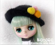 Blythe Middie felted hat, via Flickr.