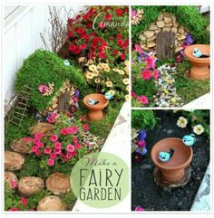 Add a fairy Garden to the Strawberries??