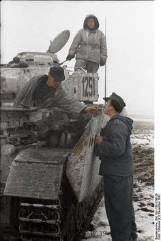 Tiger tank on the eastern front