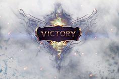 Vídeo Game League Of Legends  Victory Photoshop Papel de Parede