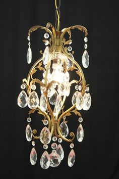 lampadario cristalli : Lampadario cristallo 6 bracci Casa Pinterest