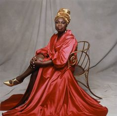 Nina Simone.  The High Priestess of Soul!