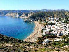 PLAYA DE AGUA AMARGA.  (Cabo de Gata) http://almeriapedia.wikanda.es/wiki/Playa_de_Agua_Amarga_(N%C3%ADjar)